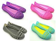 Обувь резиновая для купания женская. Мыльницы / лодочки / балетки. Модель 993