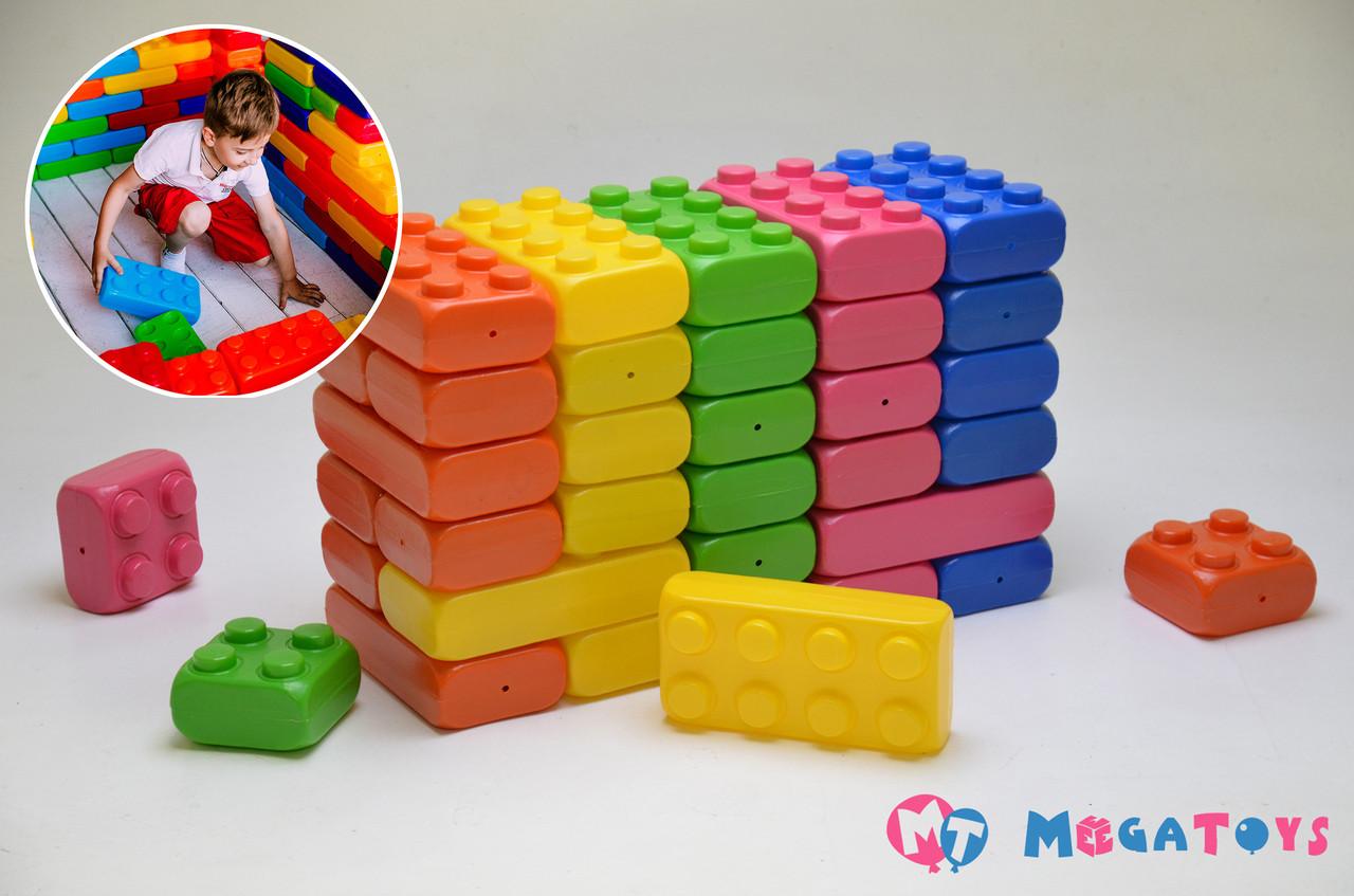 Конструктор блочный для детей контрастная ткань