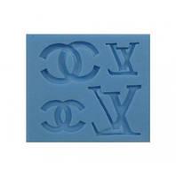 Молд силиконовый для мастики Пасха буквы 7.8х7х0.8 см