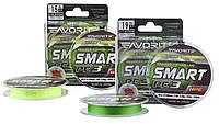 Шнур Smart PE 3X Light Green 150m 0.187mm
