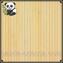 Бамбукові шпалери світлі, 2,5 м, ширина планки 8 мм / Бамбукові шпалери