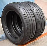 Шины б/у 185/60 R15 Dunlop Sport BluResponse, ЛЕТО, пара, 5,5 мм, фото 4