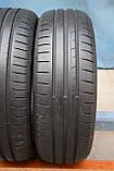Шины б/у 185/60 R15 Dunlop Sport BluResponse, ЛЕТО, пара, 5,5 мм, фото 2