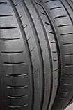 Шины б/у 185/60 R15 Dunlop Sport BluResponse, ЛЕТО, пара, 5,5 мм, фото 6