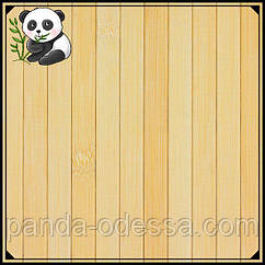 Бамбукові шпалери світлі, 2,5 м, ширина планки 17 мм / Бамбукові шпалери