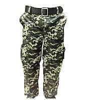 Камуфляжные летние брюки, штаны пиксель пограничный