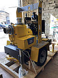 Дизельная мотопомпа JD 12-400 G10 RZD40 TRAILER , фото 4