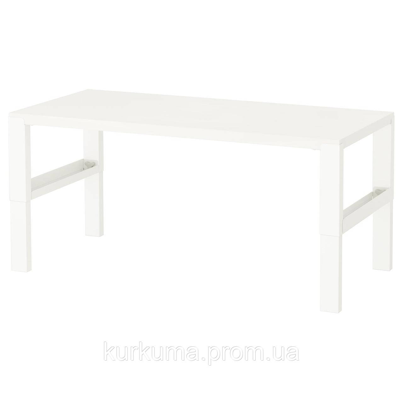 IKEA PAHL Стол, белый  (891.289.53)