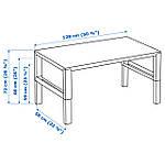 IKEA PAHL Стол, белый  (891.289.53), фото 5
