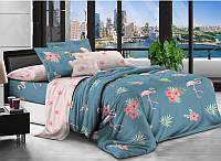 Семейное постельное белье бязь gold - Фламинго
