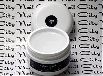 Строительный гель для наращивания ногтей Clear S ТМ CityNail 50 мл
