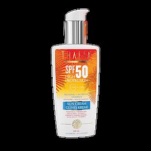 Водостійкий сонцезахисний крем Akten Cosmetics Thalia з SPF 50, 200 мл (3615001)