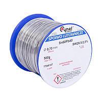 Припой Сynel Sn60Pb40-SW26 0.70 мм 500 г