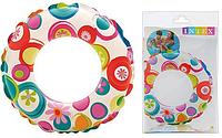 Детский развивающий надувной круг.Круг надувной яркий.Надувной круг для детей.