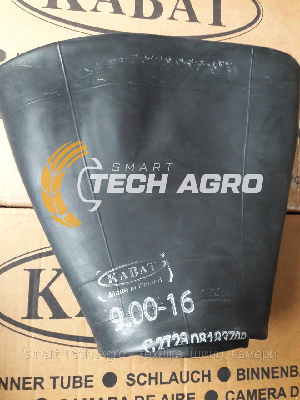 Камера  9.00/10.00 16 TR-15 Kabat для причепа борони плуга культиватора