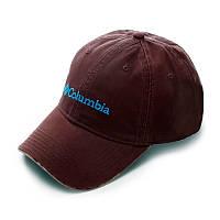 Бейсболка Columbia коричневая, кепка