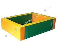 Сухой бассейн прямоугольный Airis, разные размеры, фото 1