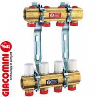 """Сборный коллектор для систем отопления 1"""" X18 /4 Giacomini"""