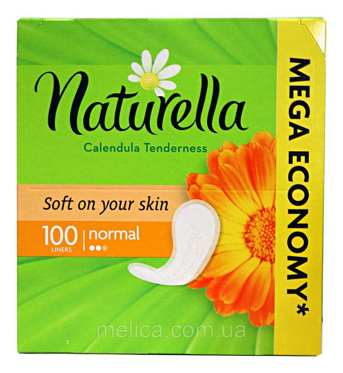 Ежедневные прокладки Naturella Calendula Tenderness Normal - 100 шт.