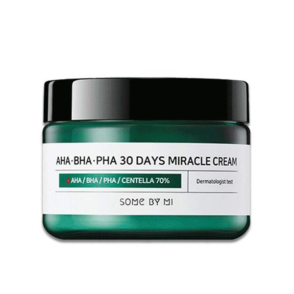 Крем для лица для проблемной кожи Some By Mi AHA-BHA-PHA 30 Days Miracle Cream