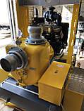 Дизельная мотопомпа JD 8-300 G10 MVM16 TRAILER, фото 5