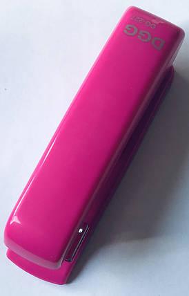 Степлер DGG 24/6 (26/6) розовый, фото 2