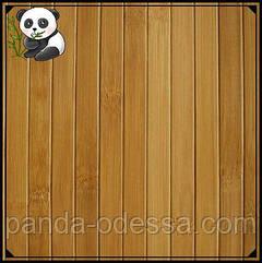 Бамбукові шпалери темні, 0,9 м, ширина планки 17 мм / Бамбукові шпалери