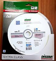 Диск алмазный отрезной по керамике Distar Hard Ceramics 1A1R диаметр 250 x1,6x10x25,4 мм. (11120048019)