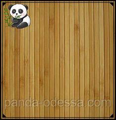 Бамбукові шпалери темні, 1,5 м, ширина планки 8 мм / Бамбукові шпалери