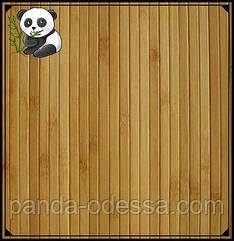 Бамбукові шпалери темні, 2 м, ширина планки 8 мм / Бамбукові шпалери