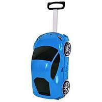 Детский чемодан-машина СИНИЙ арт. 1214, фото 1