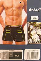 Труси чоловічі боксери DROLE розмір L (50-52)