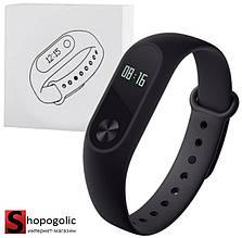 Фитнес Браслет Wristband M2 Трекер для Iphone Черный