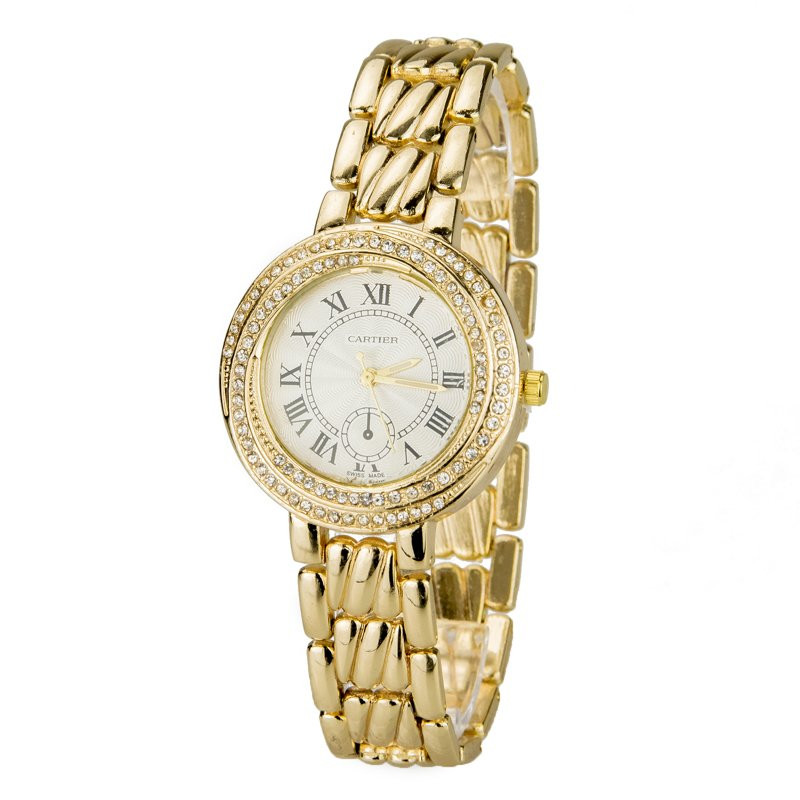 Часы женские 1677gold-w
