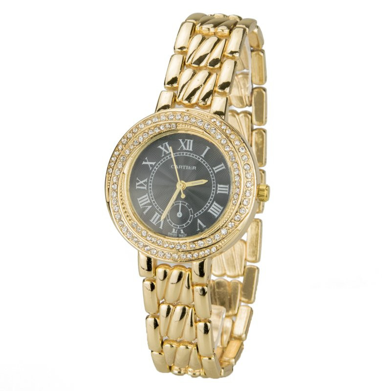 Часы женские 1677gold-b