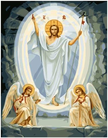 Картина по номерам Сын Божий, 40x50 см., Brushme