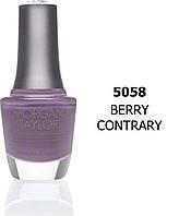 Лак для ногтей 50058 Morgan Taylor Berry Contrary 15мл.
