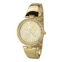 Часы недорогие женские Guess 1506gold-g