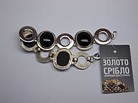 Серебряный браслет, размер 19,3 см