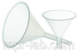 Воронка лабораторная пластиковая (диаметр - 90мм) полипропилен