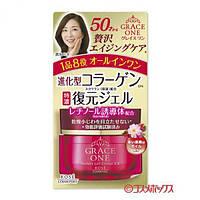 Японский инновационный крем для омоложения лица и шеи от 50 лет!KOSE Grace One Perfect Gel Cream 100гр.