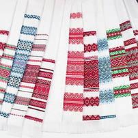 Тканные и вышитые свадебные рушники