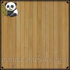 Бамбукові шпалери темні, 2 м, ширина планки 12 мм / Бамбукові шпалери