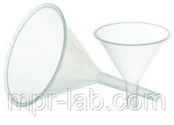 Воронка лабораторная пластиковая (диаметр - 50мм) полипропилен