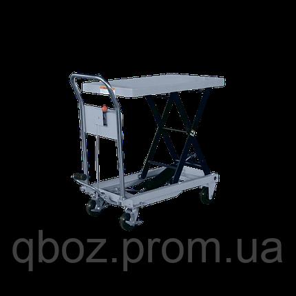 Стол гидравлический подъемный VULKAN SYTJ-100S G 1000 кг, фото 2