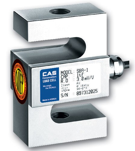 CAS SBA 5 т Тензодатчик S-образного типа