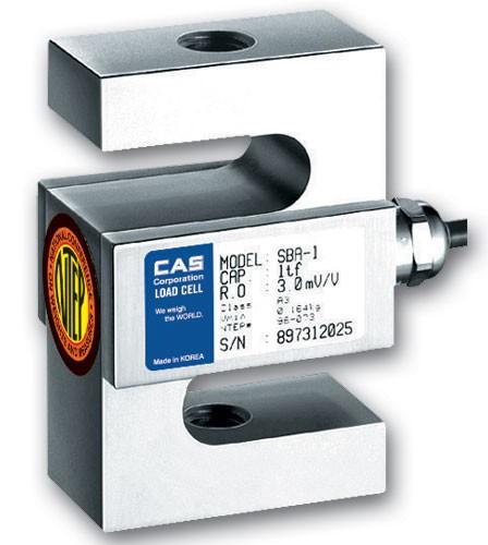 CAS SBA-С3 1 т Тензодатчик S-образного типа