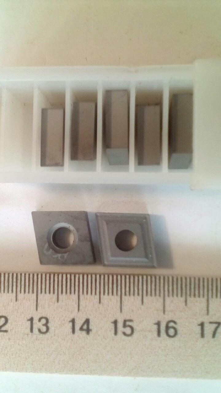 Пластина твердосплавная сменная (ромб)2210-974  (Р20) ГОСТ19059-80