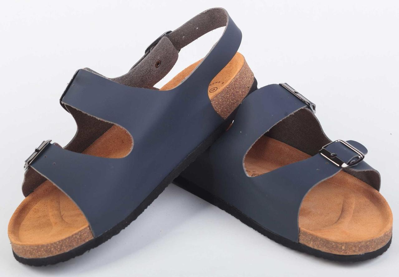 Анатомические сандалии Foot Care  FA-101 синие