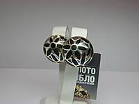Серебряные женские серьги Вес 14,49 г